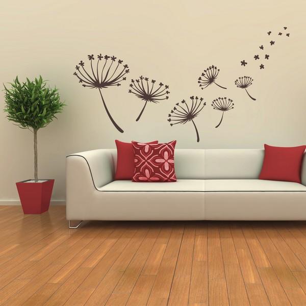 Sticky garden flower sticasa adesivi murali wall stickers for Adesivi per pareti