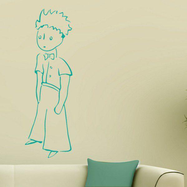 Il Piccolo Principe Monocolore - Adesivo Murale Sticasa®