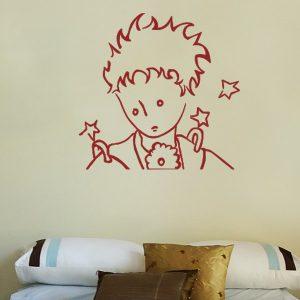 Adesivo Murale Il Piccolo Principe autoritratto