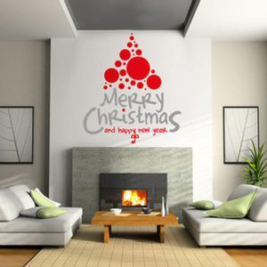 Adesivi Murali Natale.Adesivi Murali Natale Negozio Online Wall Stickers Sticasa